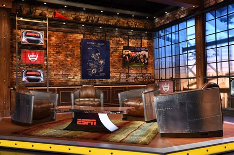 espn upgrades college football coverage  industrial