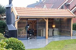 Grillen im regen gartenhauser terrassenuberdachung und for Terrassenüberdachung plan