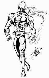 Fist Iron Coloring Pages Sketch Popular Marvel Library Clipart Template sketch template