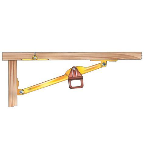 drop leaf desk hardware drop leaf support select size rockler woodworking and