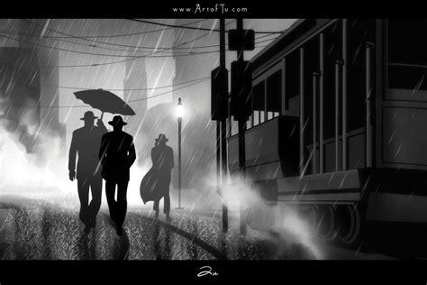 crime noir art noir city wallpaper noir series city