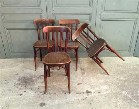 chaise bistrot baumann ensemble de 6 chaises bistrot baumann ée 30