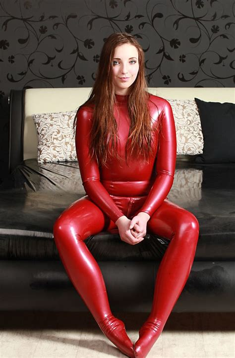 Pin On World Girls In Latex Plastics Leather More