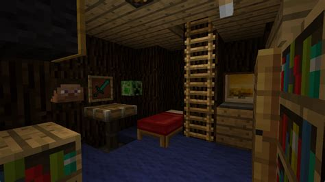 chambre minecraft map map 1 4 7 mon beau sapin v1 0 minecraft fr