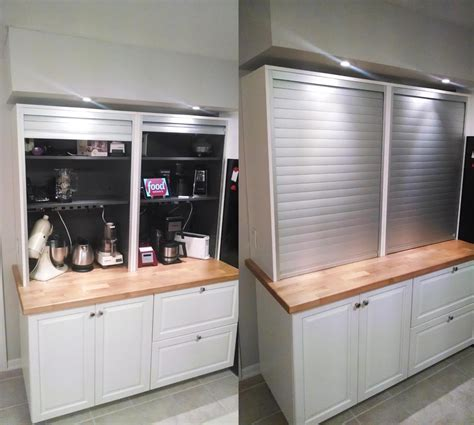 Dining Room Display Cabinets Ikea by The Mother Of Appliance Garages Ikea Hackers Ikea Hackers