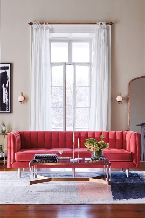 modern takes  classic tufted sofas chairs