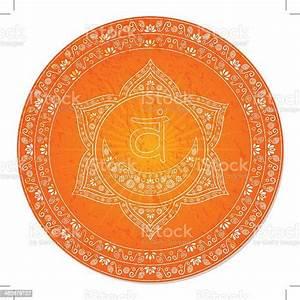 Second, Chakra, Decorative, Stock, Illustration