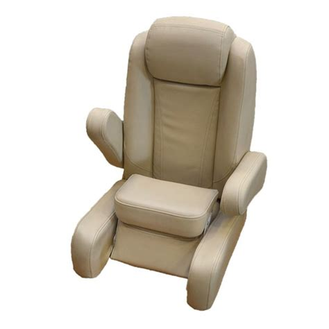 captains chairs for boats uk harbor khaki vinyl reclining boat captains bolster