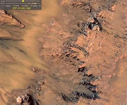 Mars Lineae Recurring Slope Sand Water Flowing