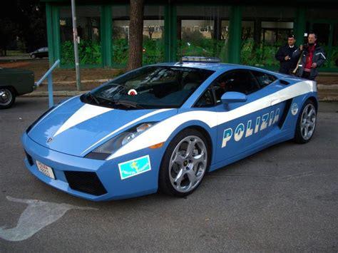 Actual Italian Police Car