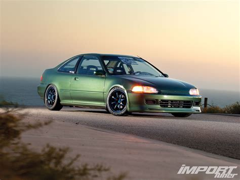 honda civic  import tuner magazine