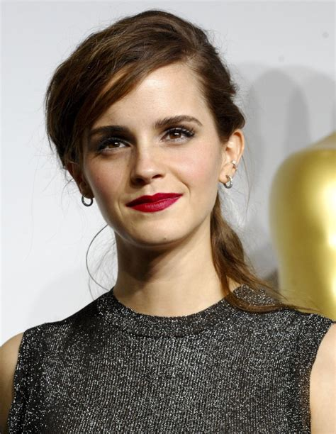 Emma Watson Picture The Annual Oscars Press Room