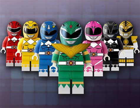 LEGO Power Rangers Concept - The Awesomer