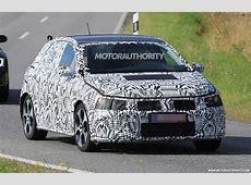 2018 Volkswagen Polo GTI spy shots