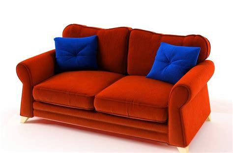 canap 233 3 places en tissu de qualit 233 tomy orange mobilier priv 233