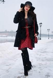 Outfits casuales y elegantes para lucir coqueta este Invierno 2014 | AquiModa.com vestidos de ...