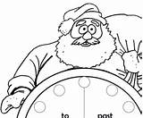 Clock Coloring Mistake Found sketch template