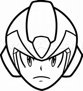 How to Draw MegaMan Easy, Step by Step, Video Game ...