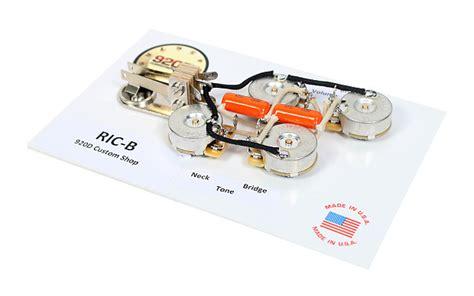 Rickenbacker 620 Wiring Diagram by Duncan Srb 1 Set For Rickenbacker Bass Guitar