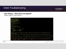 Roaming behavior and Client Troubleshooting
