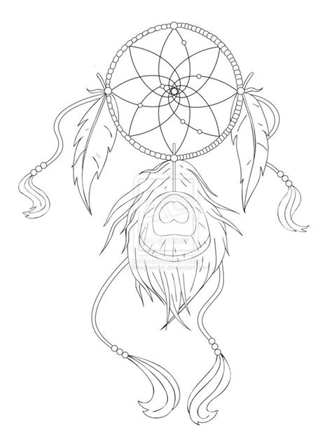 Dreamcatcher Drawing Designs at GetDrawings | Free download