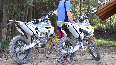 Enduro Te 250 And Husqvarna Moto Cross Fc 250 by Husqvarna Fc 250 And Fe 250 Sound Motocross And Enduro