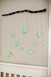 Stars diy wall and art on