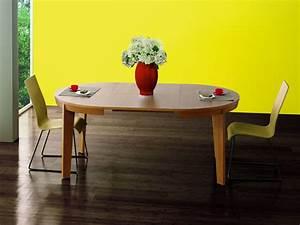 table de salle a manger ronde avec rallonge digpres With meuble salle À manger avec table salle À manger ronde À rallonge