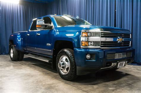 Used 2015 Chevrolet Silverado 3500 High Country Dually 4x4
