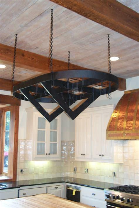 custom pot racks custom wrought iron pot racks misita designs
