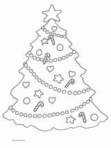 Coloring Tree Christmas Pages Decorations Star Drawing Lights Colouring Trees Decoration Printable Step Clipart Adults Colorful Getdrawings Clipartqueen Discover sketch template