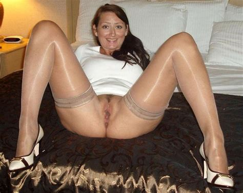 Sheer Stockings Milf Luscious