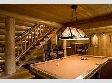 Game Room Rustic Basement Minneapolis by Bill