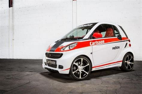 smart fortwo race edition  carlsson review top speed