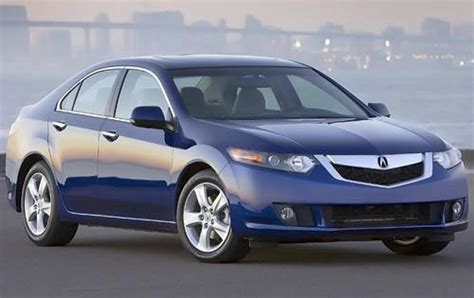 2009 acura tsx information and photos zombiedrive