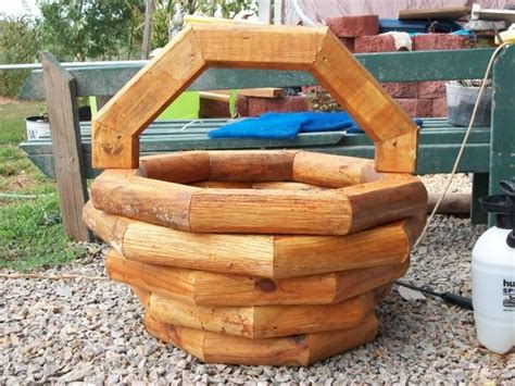 landscape timber planter plans  woodworking projects