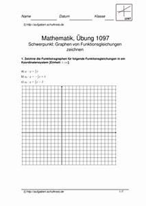 Lineare Funktionen Nullstellen Berechnen : funktionsgraphen lineare funktionen bungsblatt 1097 ~ Themetempest.com Abrechnung