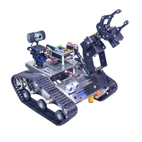 xiao r wifi robot arm car with gimbal raspberry pi 3b built in bluetooth wifi
