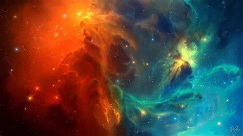 Tylercreatesworlds, Space, Space Art, Nebula, Stars