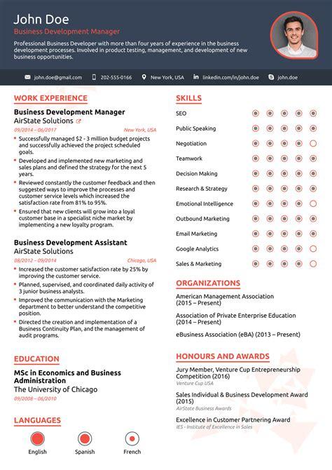 resume templates    customize