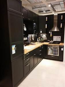 Elements De Cuisine Ikea : cuisine noire laxarby ikea 39 messages ~ Melissatoandfro.com Idées de Décoration