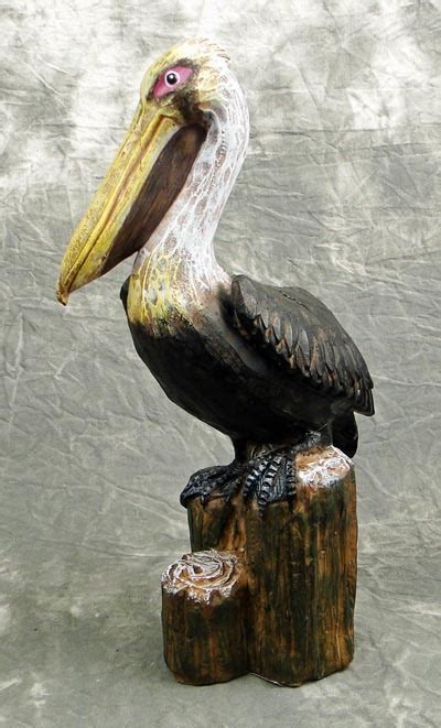 Pelican on Pilings   Globe Imports