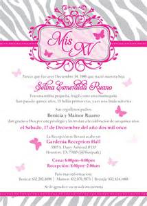 quinceanera invitation wording sweet 15 party invitation mis quince quince