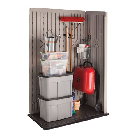 Rubbermaid Large Vertical Storage Shed Accessories by Lowes Buildings Sheds Free Octagon Shaped Picnic Table