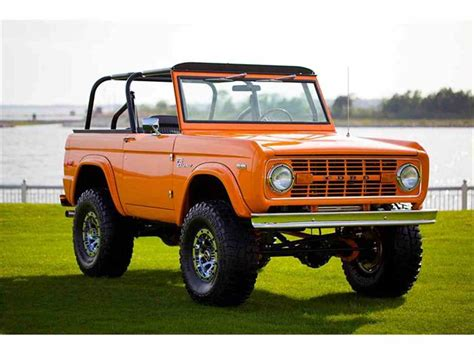 New Ford Bronco For Sale by 1972 Ford Bronco For Sale Classiccars Cc 876332