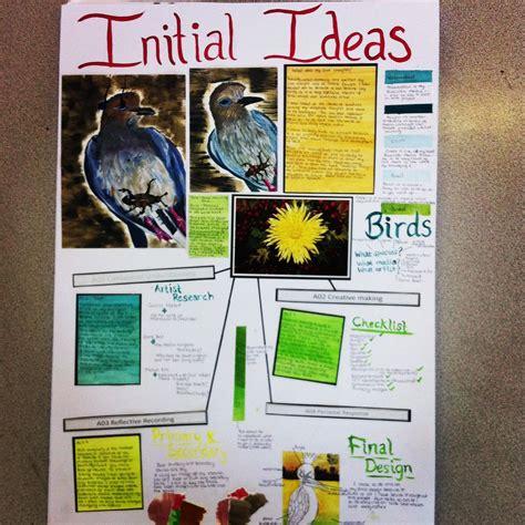 Ashley Papworth Initial Ideas Art Gcse