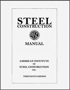 Aisc Steel Manual Excel