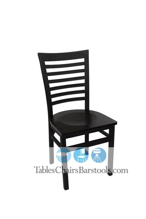 gladiator commercial ladder back restaurant chair w