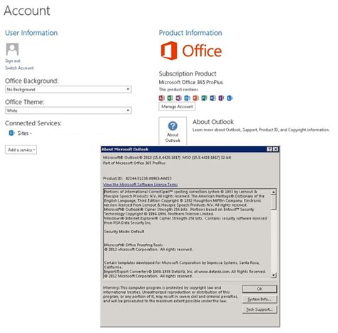 Office 365 Outlook Version Support by Is Microsoft Outlook 2013 32 Bit Office 365 Proplus