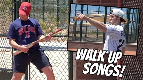 I'm limiting this to current players, so unfortunately. Walk Up Songs Be Like.. - YouTube